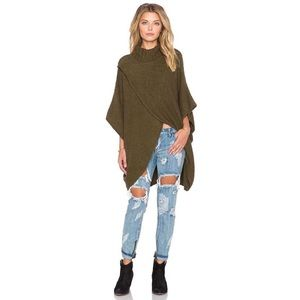 Free People All Wrapped Up Cocoon Sweater Martini